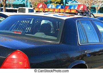 自動車, 警察