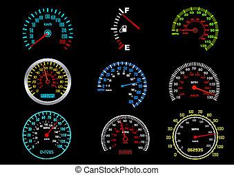 自動車, 速度計