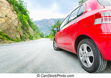 自動車, 道