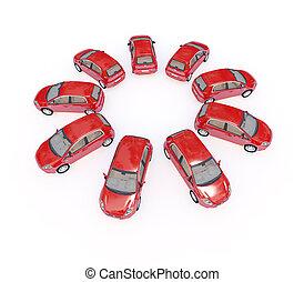自動車, 3d