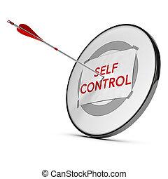 自己, 制御