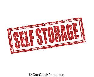 自己, storage-stamp