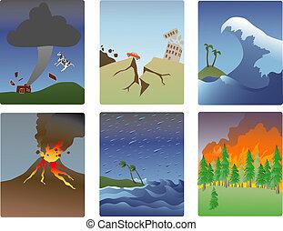 自然災害, minitures