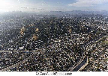 航空写真, ワシントン山, アンジェルという名前の人たち, los, カリフォルニア