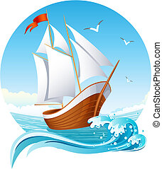 船, 航海