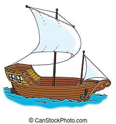 船, galleon