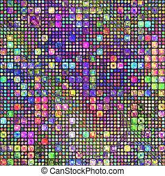 色の鉛筆, patternl