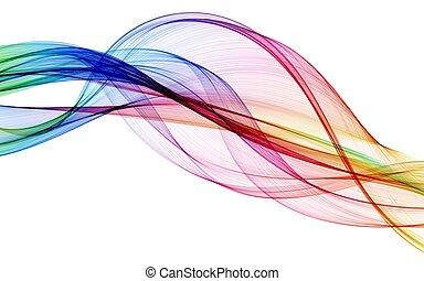 色, 抽象的, 構成