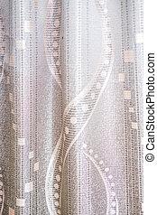 花, カーテン, 絹, 背景 パターン