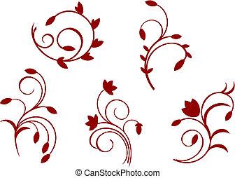 花, 単純さ, 装飾