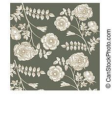 花, 古典である, wall-paper