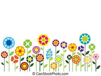 花, 心, ベクトル