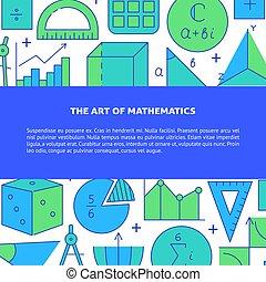 芸術, 数学, 旗, テキスト, 場所