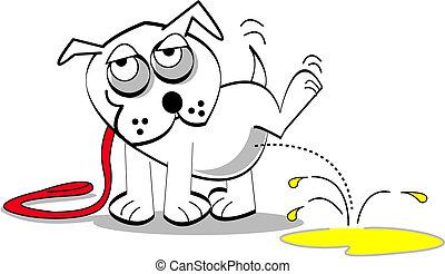 芸術, 犬, クリップ
