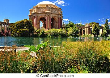 芸術, francisco, san, 宮殿, 公園, 大丈夫です