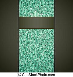 葉, 緑, ラベル