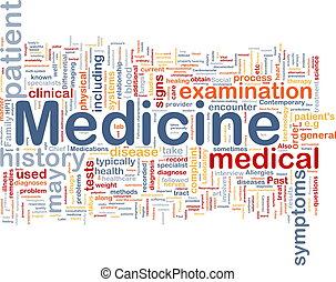 薬, 概念, 健康, 背景