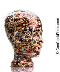 薬, 治療, タブレット, 病気