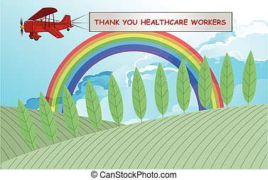 虹の記号, サポート