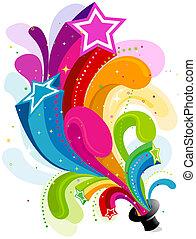 虹, 星の道