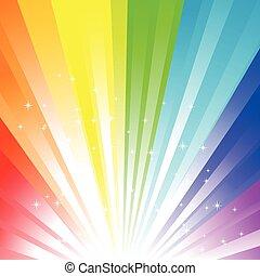 虹, 背景