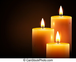 蝋燭, 黄色