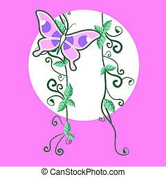 蝶, すてきである