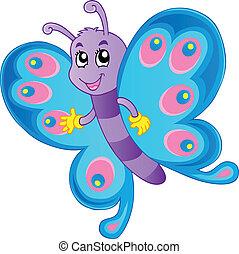 蝶, 1, 主題, イメージ