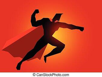 行動, ポーズを取りなさい, superhero