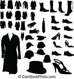 衣類, はき物, ヘッドギア