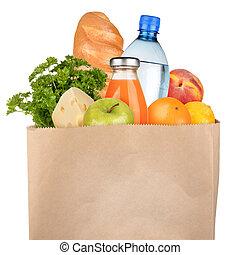袋, 食料雑貨