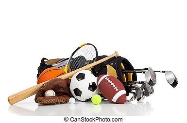 装置, 白, スポーツ, 背景, 分類される