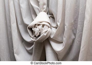 装飾用である, カーテン, 贅沢, knot.