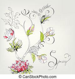 装飾用である, 春, カード