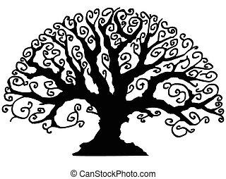 装飾用である, 木