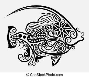 装飾用である, fish, 2