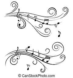 装飾用, メモ, 音楽