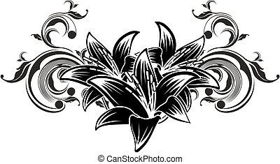 装飾用, 花, デザイン