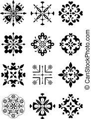 装飾, 装飾, パターン