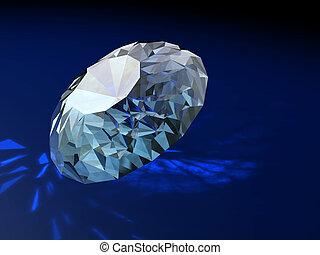 装飾, brilliants, 壮麗, 贈り物, ダイヤモンド
