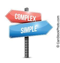 複合センター, 単純である, デザイン, イラスト, 印