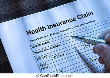 要求, 完了, 健康保険