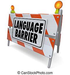 言葉の障壁, 意味, 言葉, 翻訳, メッセージ, 解釈しなさい