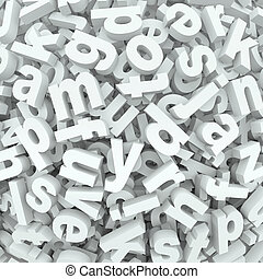 言葉, ひどい状態のもの, アルファベット, こぼされる, 背景, 手紙, 寄せ集め