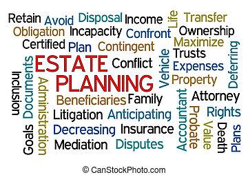 計画, 財産