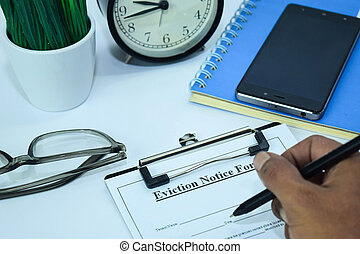 計画, 通知, 概念, 仕事, 形態, スケジュール, オフィス, ビジネス, 追い立て, supplies., 背景, 机, テーブル, 白