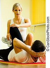 訓練, 健康診断