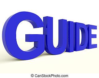訓練, 単語, シンボル, ∥あるいは∥, ガイド, 指導