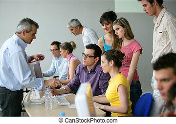 訓練, 教育, businesspeople
