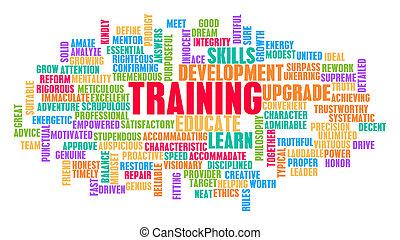 訓練, 概念, 単語, 雲